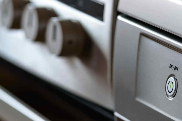 Silver Appliance Close-up