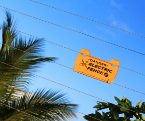 example of electric fencing
